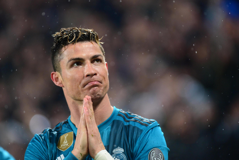 Christiano Ronaldo wakati huo akiwa mchezaji wa Real Madrid