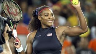 Mchezaji tenesi, Serena Williams. Picha ya kumbukumbu 2016