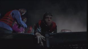 Images extraites du programme de réalité virtuelle «Quand je suis parti...» narrant le parcours d'un migrant traversant la Méditerranée.