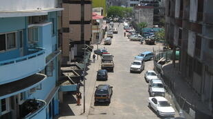 Beira, au Mozambique.