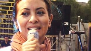Myriam Hernández en una actuacón reciente