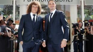 David Luiz e Ibrahimovic entre os jogadores homenageados como os melhores do futebol francês na temporada.