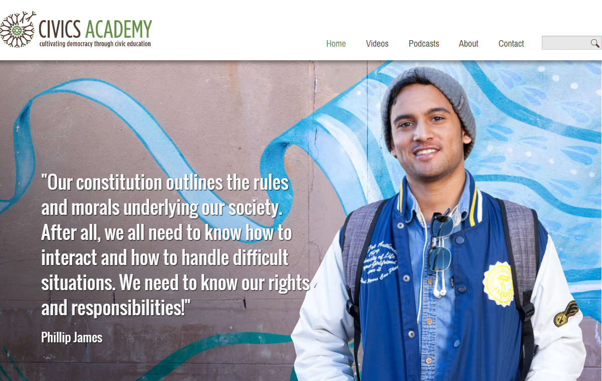 Cultivating democracy through civic education