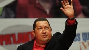 Shugaban Venezuela Hugo Chavez