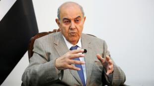 ایاد علاوی در مصاحبه با رویترز در بغداد
