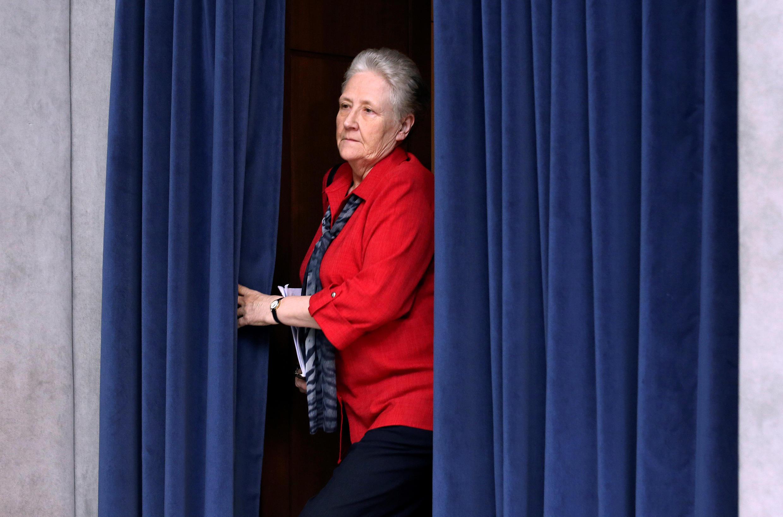 Marie Collins, thành viên ủy ban bảo vệ trẻ em của Tòa Thánh Vatican vừa từ chức ngày 01/03/2017.