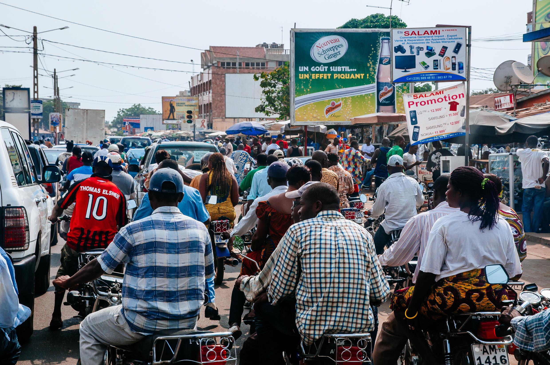 Scène de rue à Lomé, Togo (photo d'illustration)