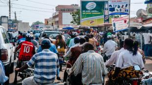 Scène de rue à Lomé, Togo (photo d'illustration).