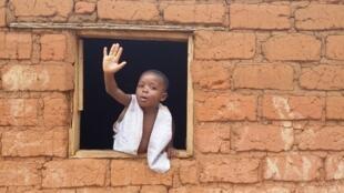 Niño de la República Democrática del Congo.