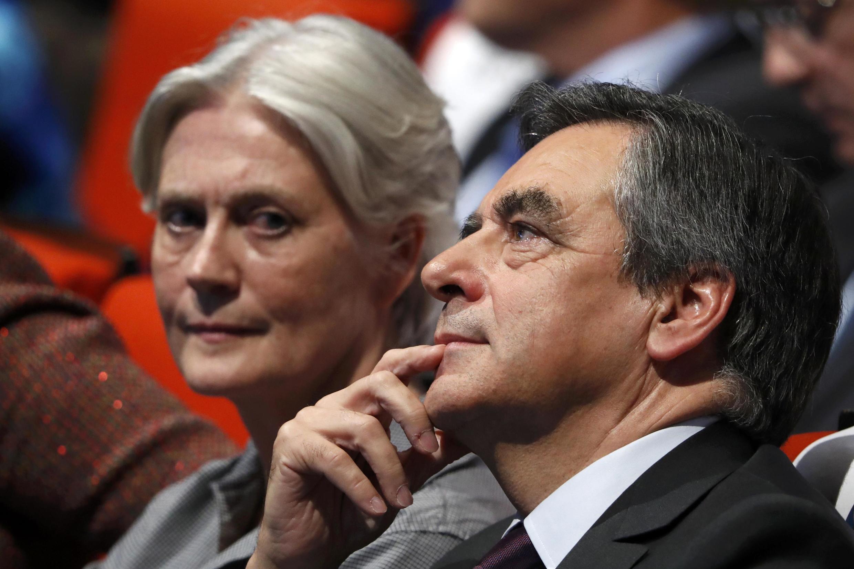 Penelope et François Fillon, le 18 novembre 2016,