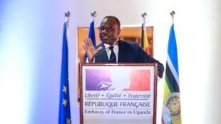 Jules Armand Aniambossou French ambassador to Uganda