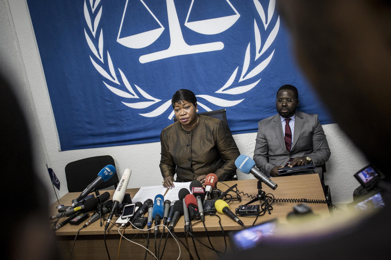 Mwendesha mashtaka mkuu wa Mahakama ya Kimataifa ya Makosa ya Jinai (ICC), Fatou Bensouda, Mei 3, 2018