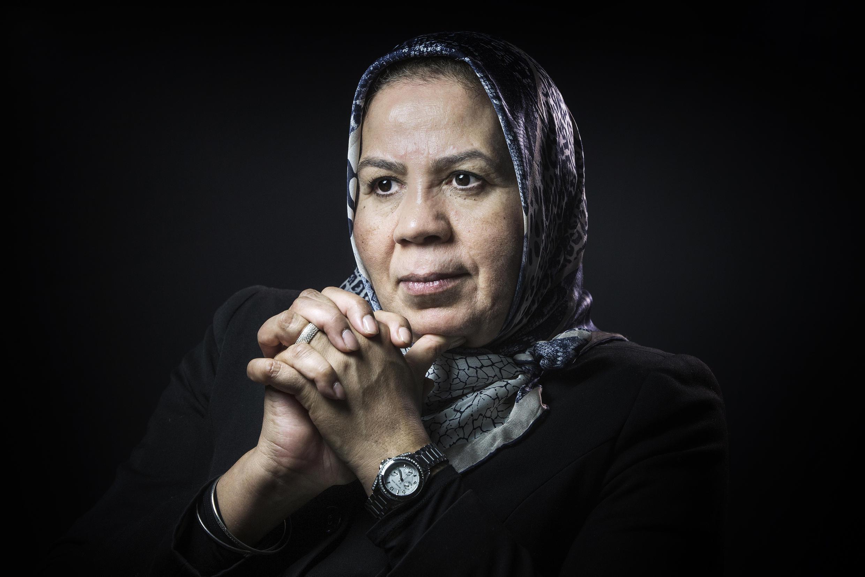 Latifa Ibn Ziaten whose son was a victim of Islamist gunman Mohamed Merah
