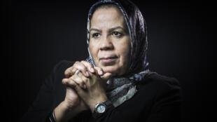 Latifa Ibn Ziaten, mère d'Imad Ibn Ziaten, victime de Mohamed Merah.