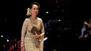 Aung San Suu Kyi, jagorar Myanmar