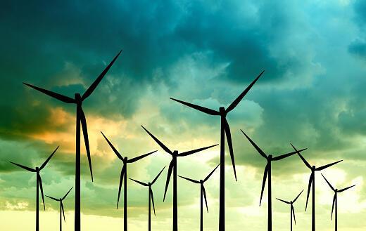 Des éoliennes pour lutter contre le réchauffement climatique