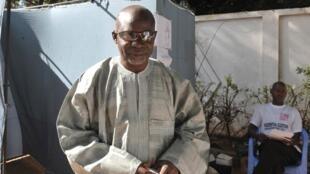 Detained UDP leader Ousainou Darboe in 2011