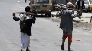 Sanaa, le 6 juin 2011.