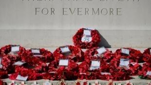 Мемориал на британском воинском кладбище в Байё 6 июня 2019