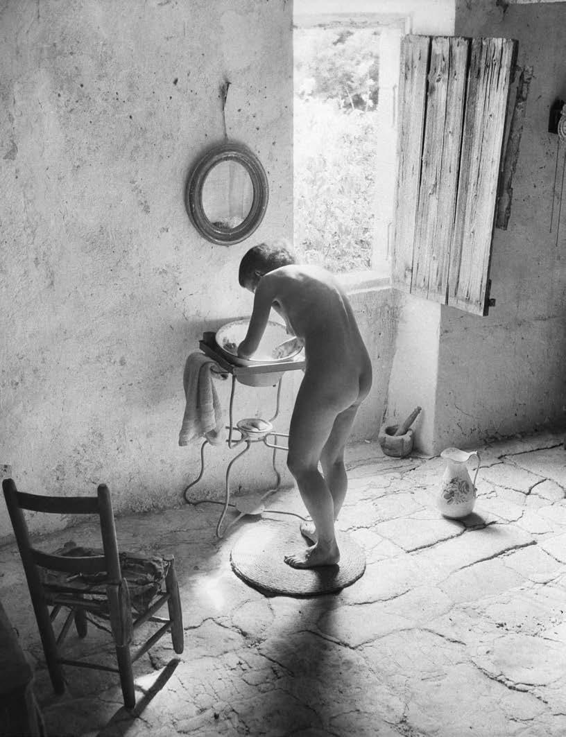 法國攝影大師維利·羅尼斯(Willy Ronis )的作品:裸女