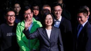 台湾总统蔡英文资料图片