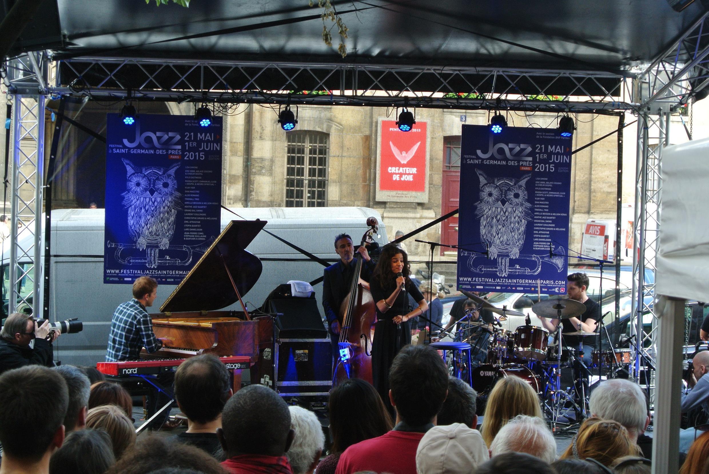 Agathe Jazz Quartet. Jazz à Saint-Germain des Près. Maio 2015