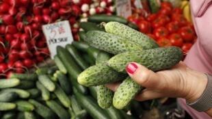 Nga cấm vận rau trái tươi từ Châu Âu kể từ ngày 2/6/2011.