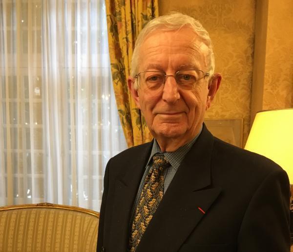 Michael Edwards, writer, poet, immortel at the Académie française since 2013