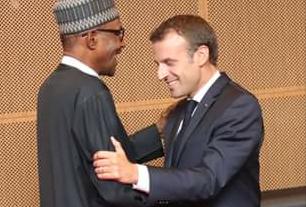 Bayan kammala ganawa da Muhmmadu Buhari, Emmanuel Macron zai wuce birnin Lagos da ke kudancin kasar.