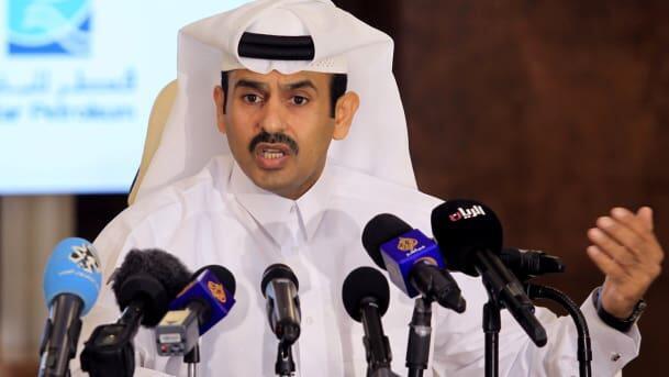 Saad al-Kaabi, ministan albarkatun man fetur na Qatar.