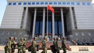 Le tribunal d'Urumqi où les condamnations ont été prononcées.