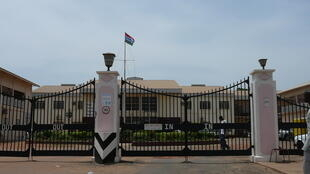 The Edward Francis Small Teaching Hospital in Banjul, Gambia