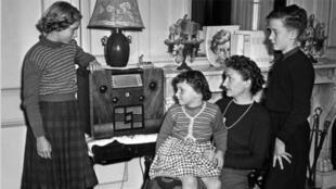 Una familia francesa de los años 50