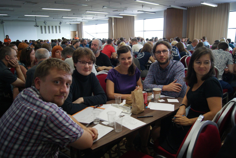 Команда «Улитка на Сене» на фестивале интеллектуальных игр «Бархатный сезон» в Юрмале, сентябрь 2016 года