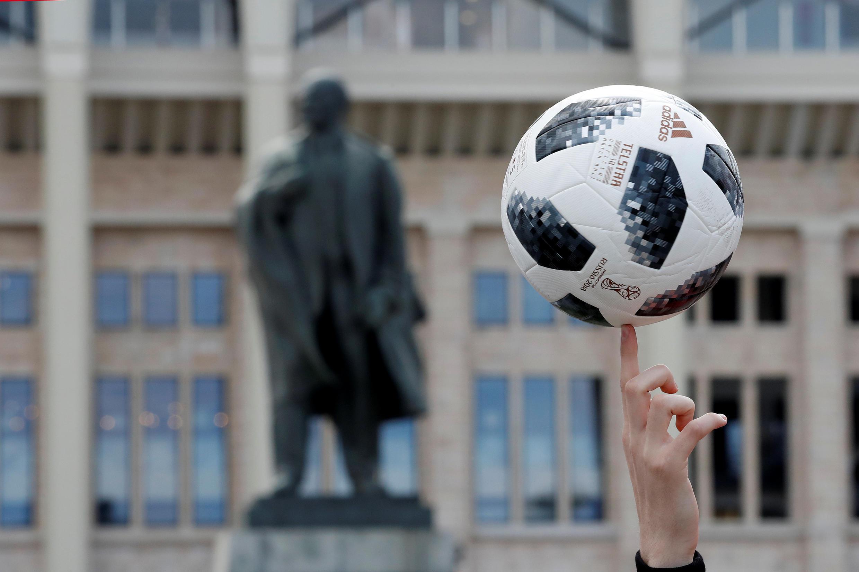 世界盃賽在莫斯科盧日尼基體育場展開 2018年6月14日