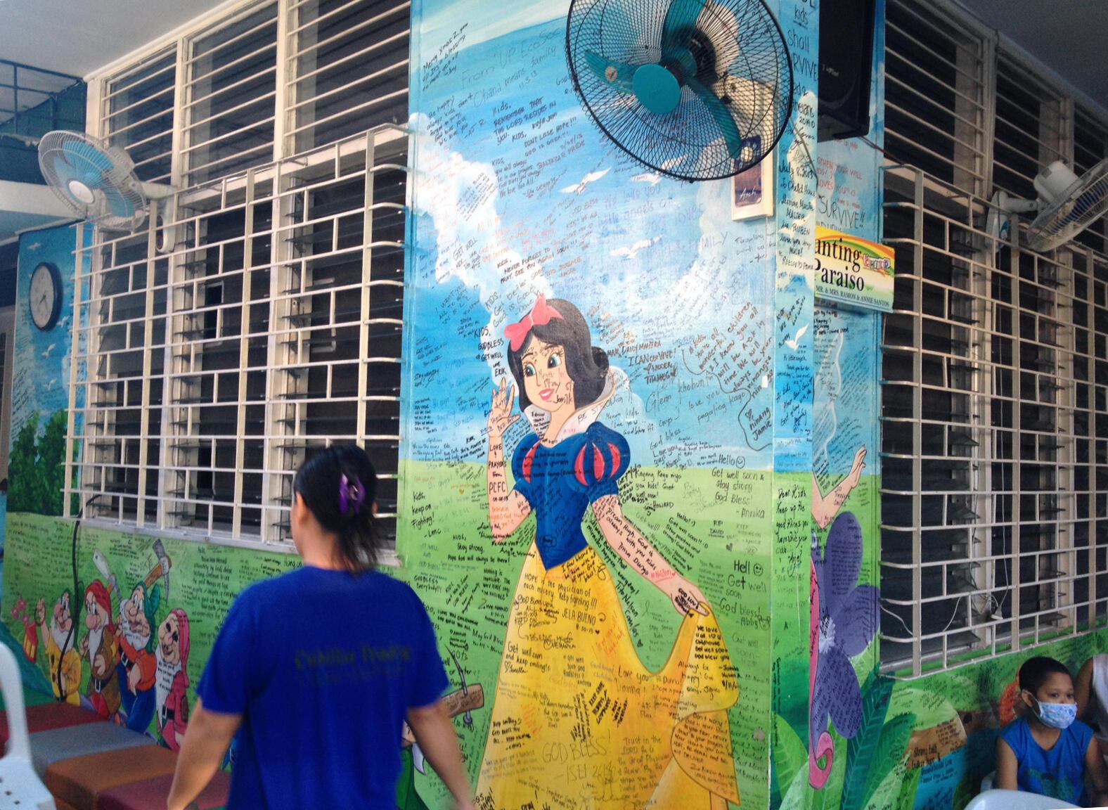Pour ceux qui n'habitent pas à Manille, une maison accueille les parents des enfants soignés au pcmec, ainsi que ceux en hôpital de jour.