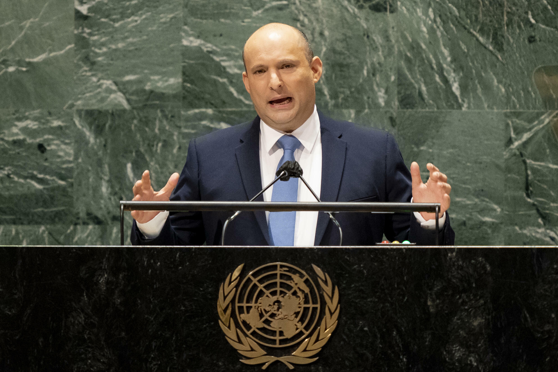 以色列总理贝内特在联合国大会发言
