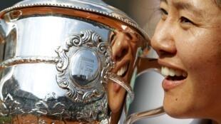 Na Li, atleta chinesa campeã em Roland Garros