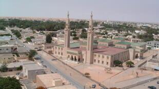 Nouakchott, capitale de la Mauritanie (illustration).