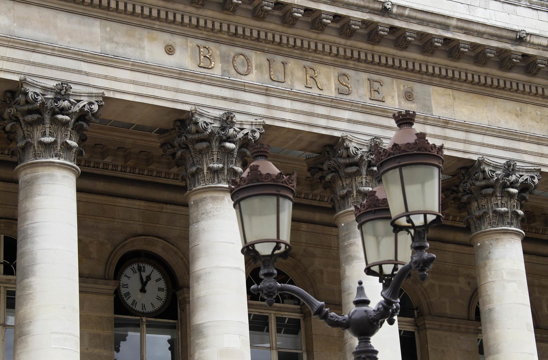 The Paris bourse de Paris