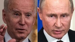 US President Joe Biden imposed sanctions on President Vladimir Putin's Russia