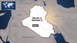 Авиабаза Балад расположена примерно в 70 км от Багдада