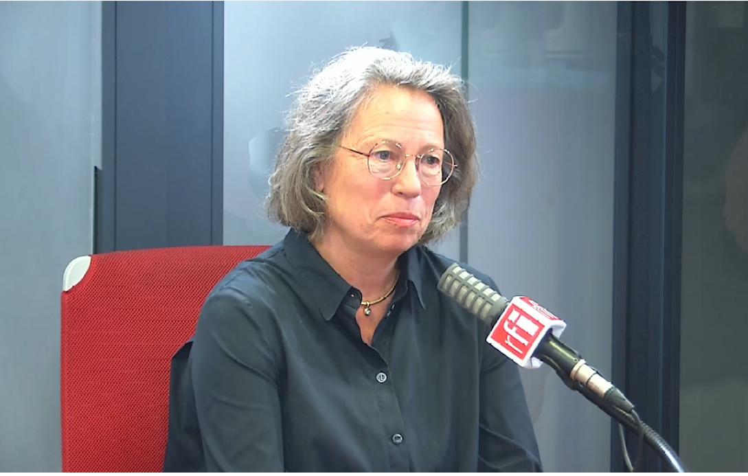 Sabine Thillaye, députée Écologie, démocratie, solidarité d'Indre-et-Loire dans les studios de RFI, le 22 juillet 2020.