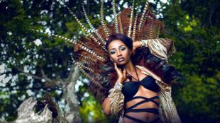 """Msanii Kleyah katika uzinduzi wa track yake mpya """" African Drum"""""""