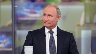 Владимир Путин на «Прямой линии» с самим собой 7 июня 2018