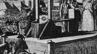 Will it end with the guillotine? Execution of Marie Antoinette, 1794