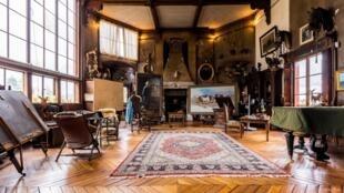L'atelier de Marie-Rosalie Bonheur, dite Rosa Bonheur, au château de By.
