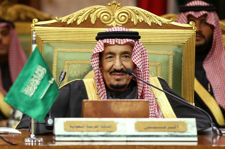 ملک سلمان در مراسم گشایش اجلاس شورای همکاری خلیج فارس