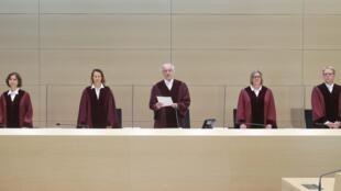 A Karlsruhe, la cour fédérale a rendu son jugement dans le «Dieselgate», lundi 25 mai 2020.