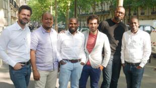 L'équipe de Partech Africa aux côtés des fondateurs de la start-up nigériane Trade Depot.